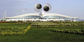Turkministan has this airport, and it just needed a little something