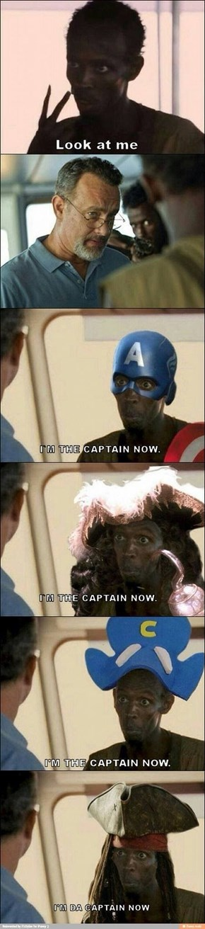 He's the Captain Now...
