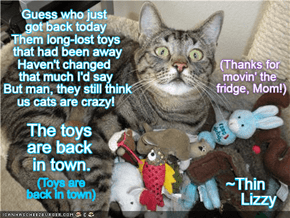 "The Toys Are Back In Town ~~ TTO ""The Boys Are Back In Town"" by Thin Lizzy"