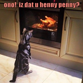 ono!  iz dat u henny penny?