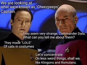 Commander Data Is Looking At YOU!