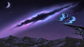 Nighttime Nebula