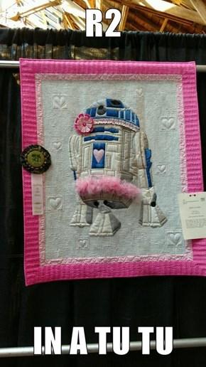 R2  IN A TU TU