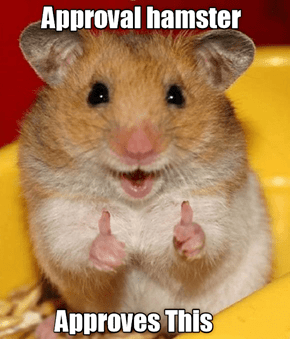 Approval Hampster