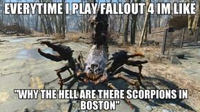 Fallout 4 Logic Be Like