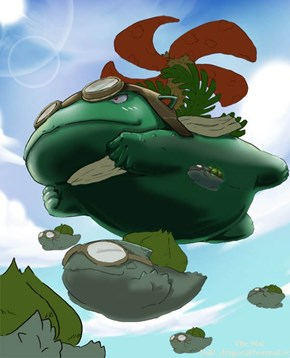 That Awkward Moment When Venusaur Learned Fly