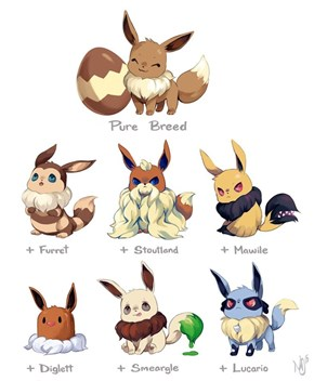 We Just Found Our New Favorite Pokémon Crossbreeds