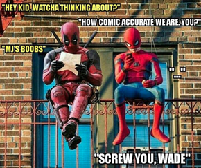 Wade Wilson's the Older Brother Peter Parker Never Had