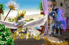 Hieroglyphic Horses