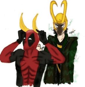 Deadpool Teaches Us How to Make Loki's Crown