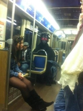 That Horrific Moment When Dark Souls Comes to Life On Your Commute Home