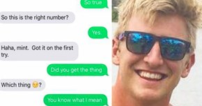 Guy Keeps Getting Texts Intended for Girl Who Gives Fake Number to Men, but He's Having Some Fun with It