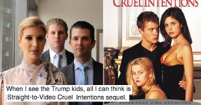 Donald Trump's Children Posted a Headshot Ad Targetd to Millennials But The Only Thing People Saw Was How Creepy They Looked
