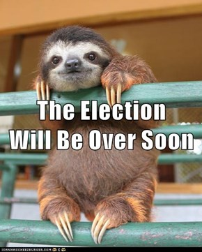 The Election                               Will Be Over Soon