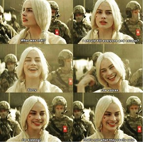At Least We Can All Agree That Harley Quinn Killed It In Suicide Squad, Right?