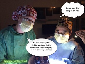 Power Failure--Surgery by Flashlight--All Ended Well