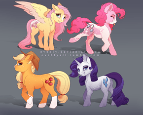 Ponies with Horse Markings