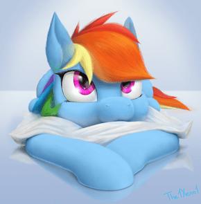 I Want to Boop Rainbow Dash