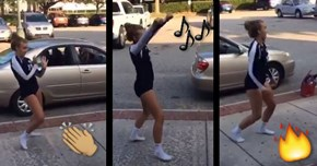 The Next 15 Minutes of Internet Fame Are Well Deserved For This Girl's Insane Dance Moves