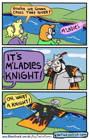 When You Need a White Knight