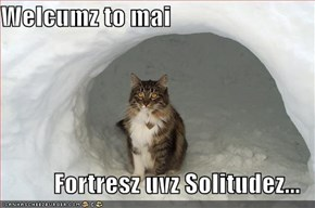 Welcumz to mai  Fortresz uvz Solitudez...