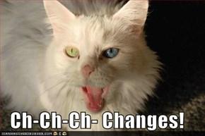 Ch-Ch-Ch- Changes!