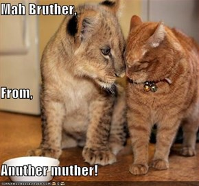 Mah Bruther, From, Anuther muther!