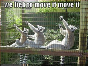we liek to move it move it
