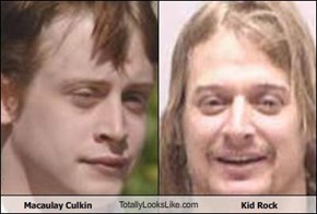 Macaulay Culkin TotallyLooksLike.com Kid Rock