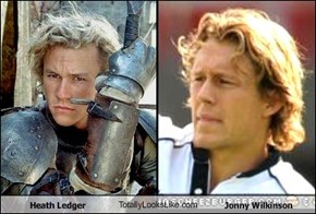 Heath Ledger TotallyLooksLike.com Jonny Wilkinson