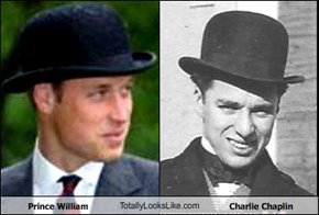 Prince William TotallyLooksLike.com Charlie Chaplin