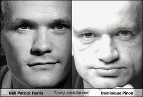 Neil Patrick Harris TotallyLooksLike.com Dominique Pinon