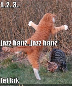 1..2..3.. jazz hanz..jazz hanz lef kik