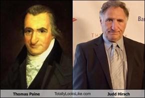 Thomas Paine TotallyLooksLike.com Judd Hirsch