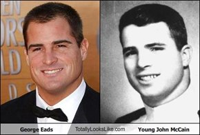 George Eads TotallyLooksLike.com Young John McCain