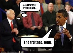 Arab terrorist sympathizer...