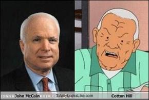 John McCain TotallyLooksLike.com Cotton Hill