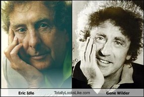 Eric Idle TotallyLooksLike.com Gene Wilder