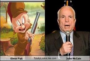 Elmer Fud TotallyLooksLike.com John McCain