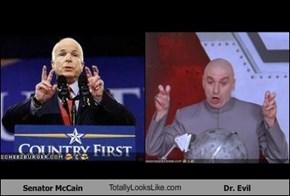 Senator McCain TotallyLooksLike.com Dr. Evil
