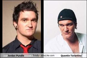 Jordan Pundik TotallyLooksLike.com Quentin Tarantino