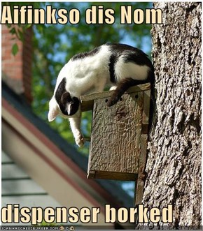 Aifinkso dis Nom    dispenser borked