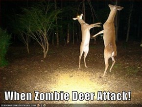 When Zombie Deer Attack!