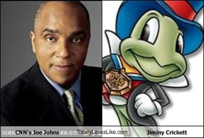 CNN's Joe Johns TotallyLooksLike.com Jiminy Crickett