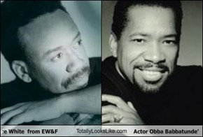 Maurice White  from EW&F TotallyLooksLike.com Actor Obba Babbatunde'