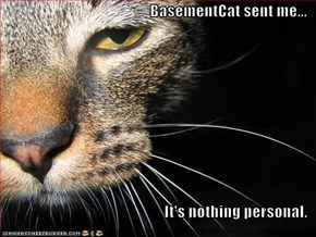 BasementCat sent me...  It's nothing personal.