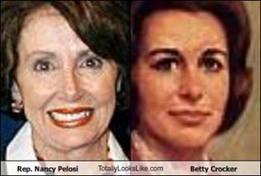 Rep. Nancy Pelosi TotallyLooksLike.com Betty Crocker
