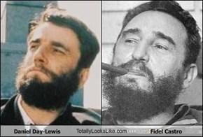 Daniel Day-Lewis TotallyLooksLike.com Fidel Castro