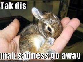 Tak dis  mak sadness go away