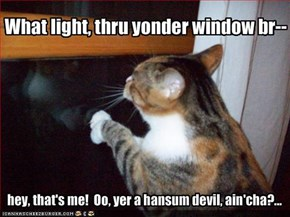 What light, thru yonder window br--